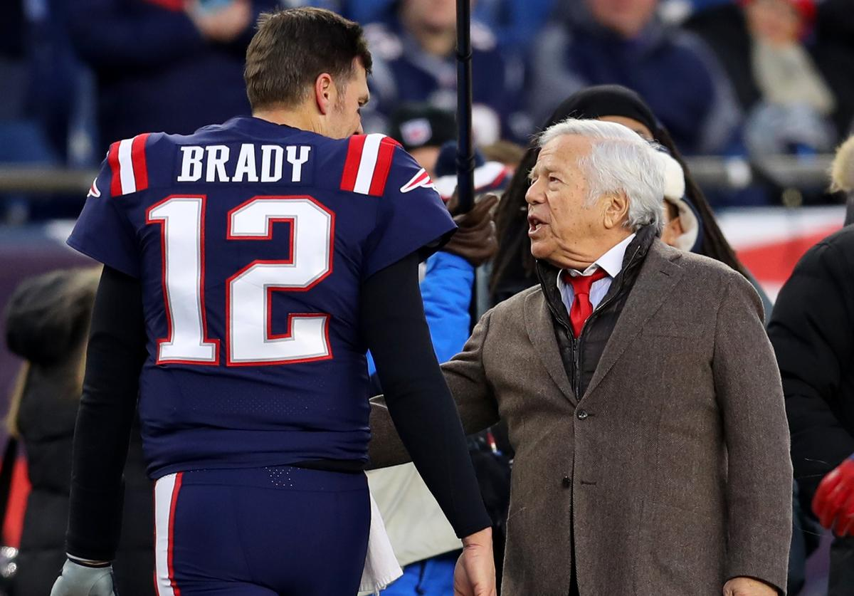 Tom Brady, Robert Kraft, Thank You