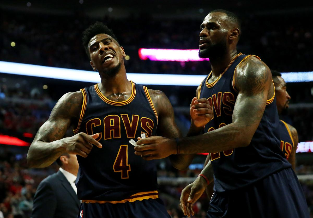Iman Shumpert, LeBron James