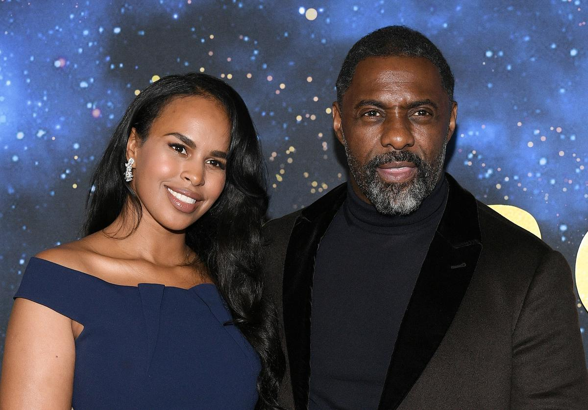 Idris Elba Sabrina Elba coronavirus test positive diagnosis contract catch update drag excited husband