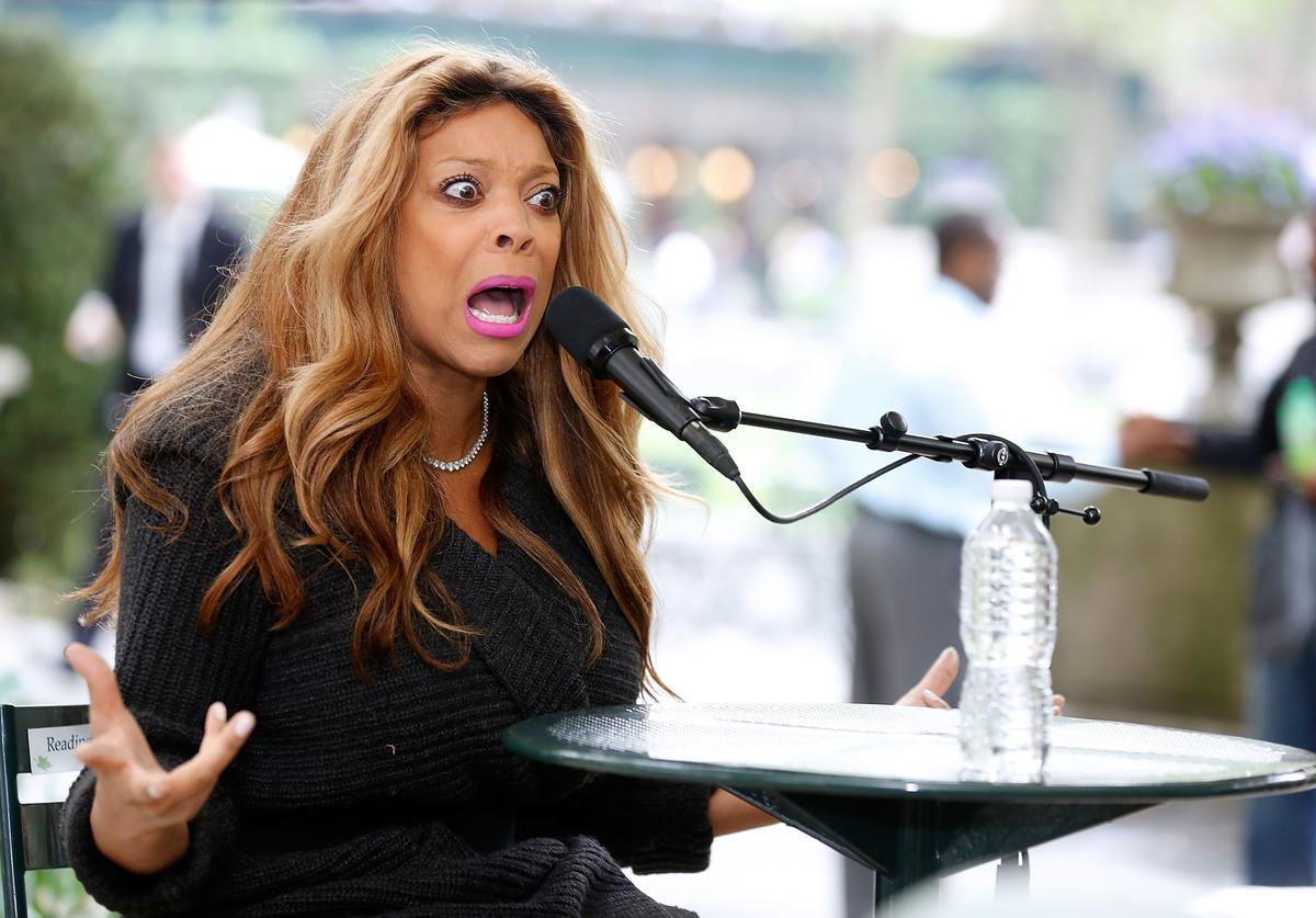 Media personality/author Wendy Williams speaks to the audience at The Bryant Park Reading Room on May 15, 2013 in New York City.
