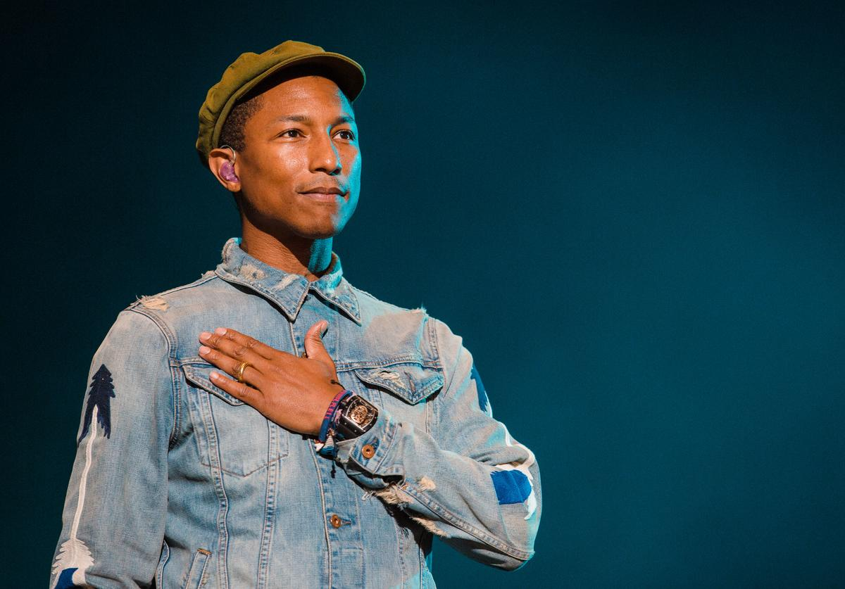 Pharrell Williams COVID-19 Relief Donations