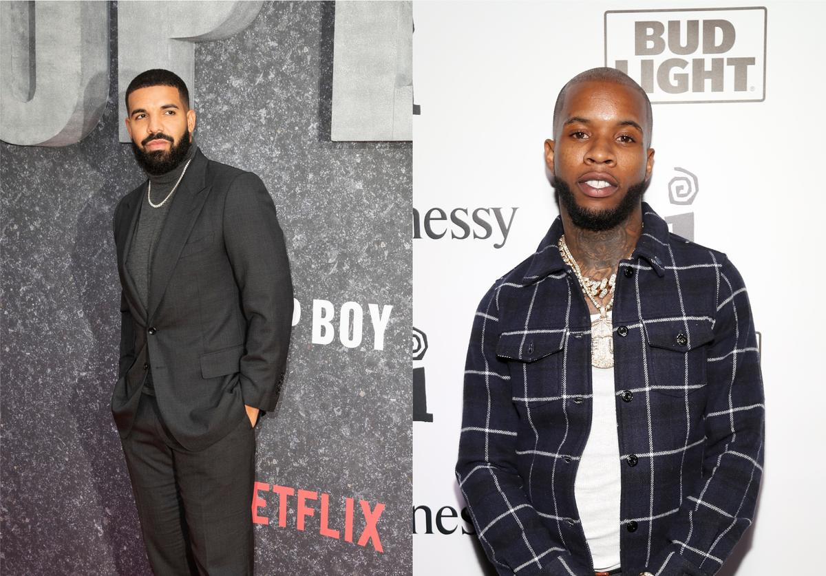 Drake Tory Lanez Quarantine Radio Instagram Live record session stream number viewers break Taylor Swift guest appearance
