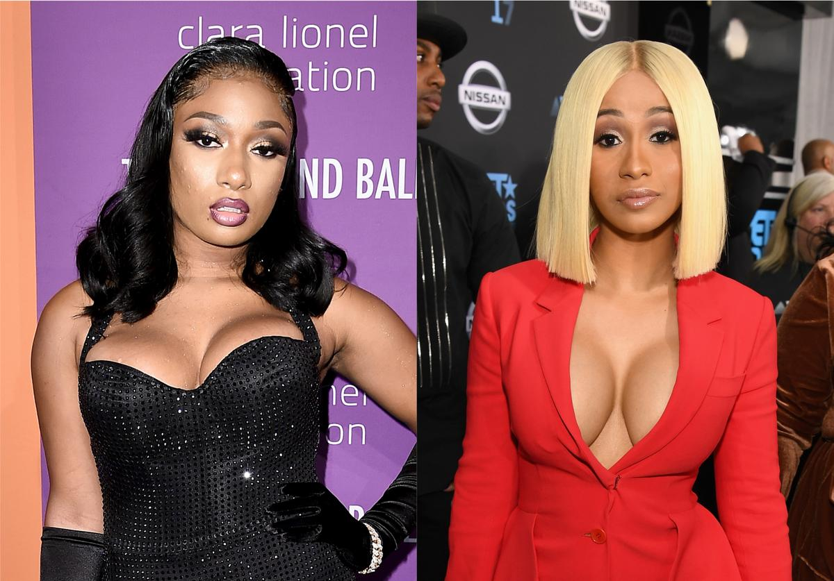 Megan Thee Stallion Cardi B Beef