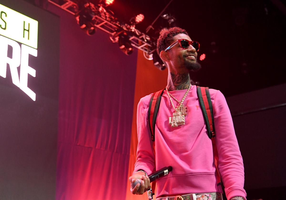 PnB Rock Stephanie Sibounheuang girlfriend baby mama baby girl child newborn welcome born Xuri Li Sibounheuang