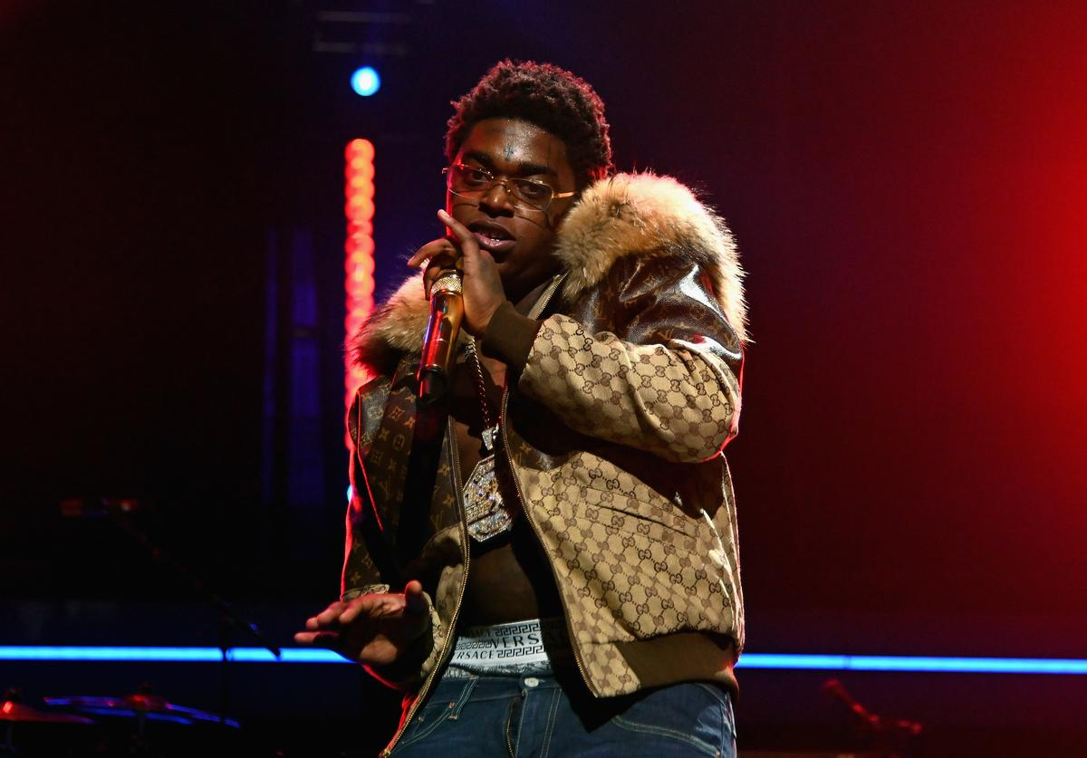 Kodak Black performs onstage during the 4th Annual TIDAL X: Brooklyn at Barclays Center of Brooklyn on October 23, 2018 in New York City