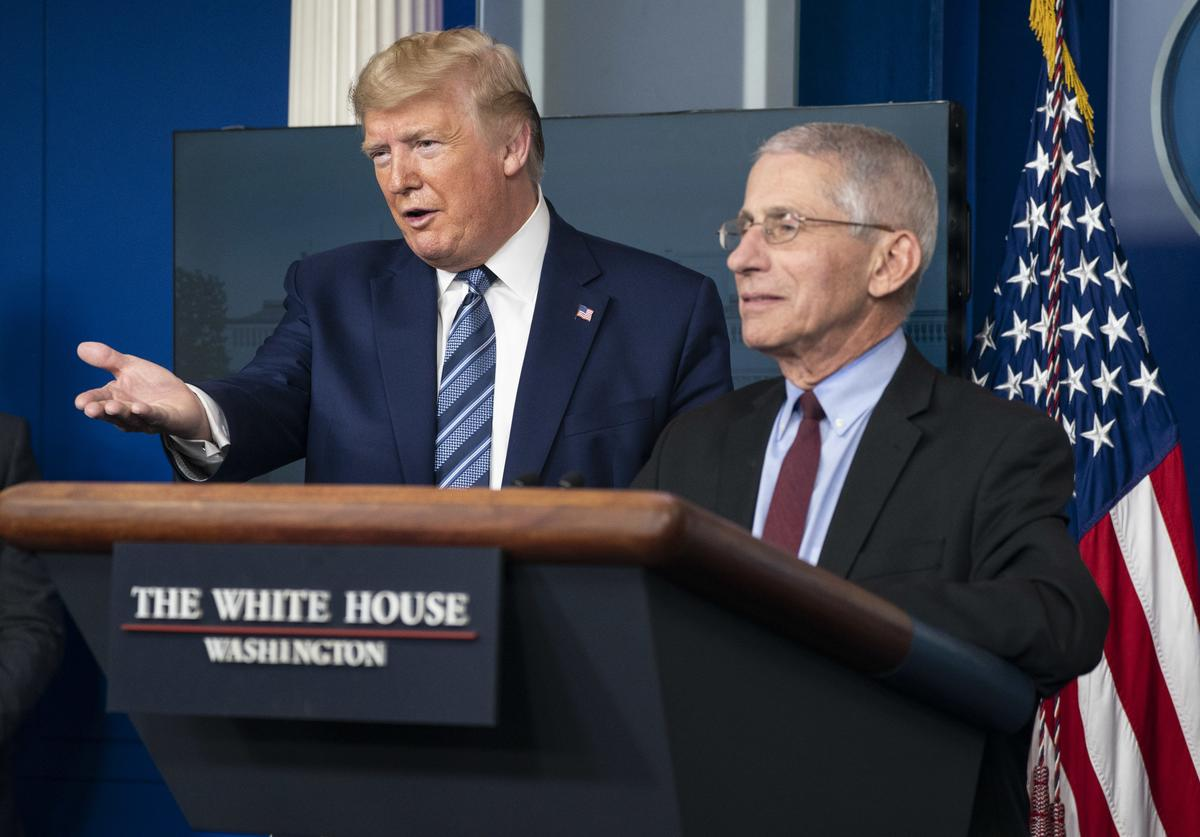 Donald Trump & Anthony Fauci
