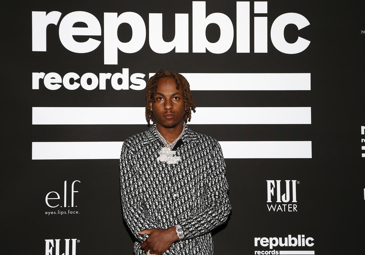 Rich the Kid attends Republic Records Grammy After Party at 1 Hotel West Hollywood on January 26, 2020 in West Hollywood, California.