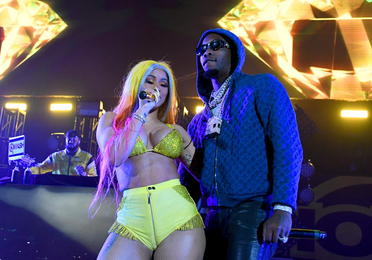 Cardi B Offset baby mama Shya L'Amour Nicole Algarin smack threat disrespect call out