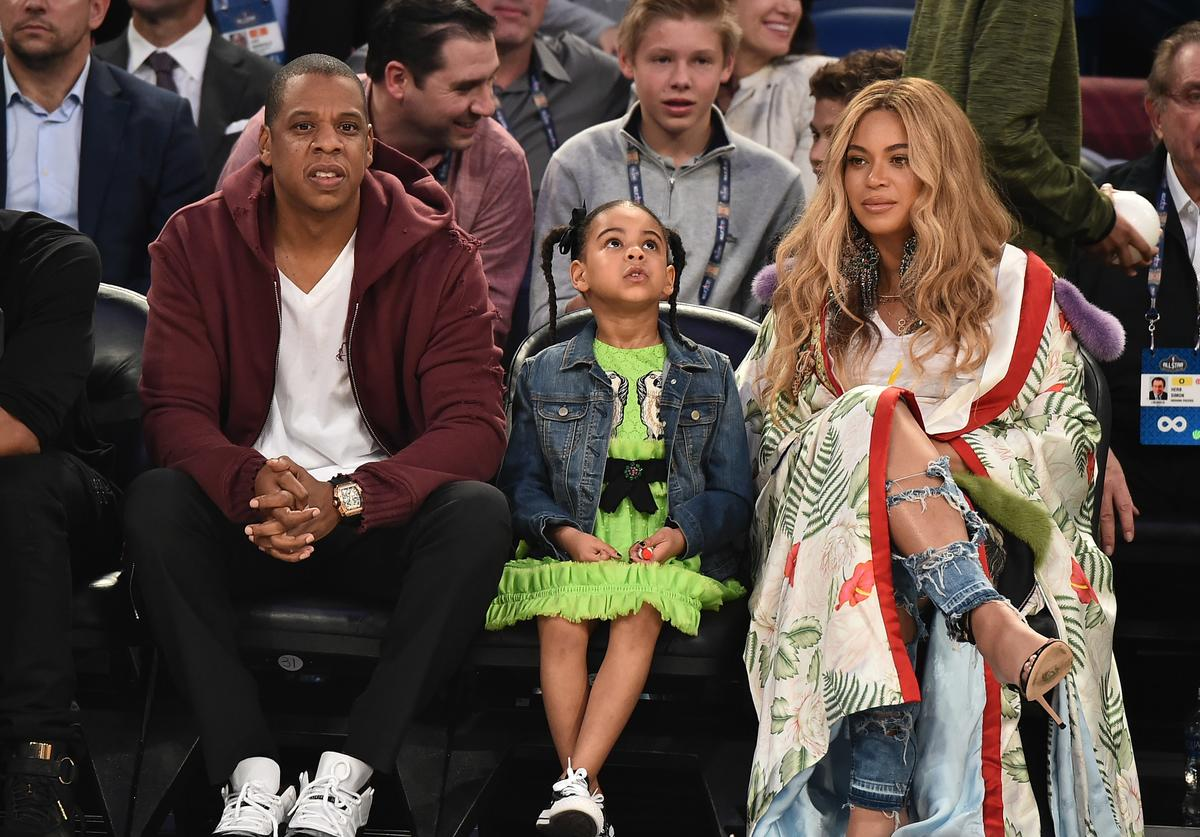 Blue Ivy Carter Beyonce Jay-Z Tina Lawson knowles hand washing coronavirus soap water pepper demonstration important science experiment