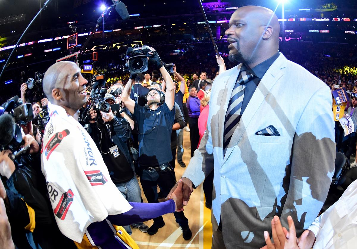 Kobe Bryant, Shaquille O'Neal, Hall of Fame