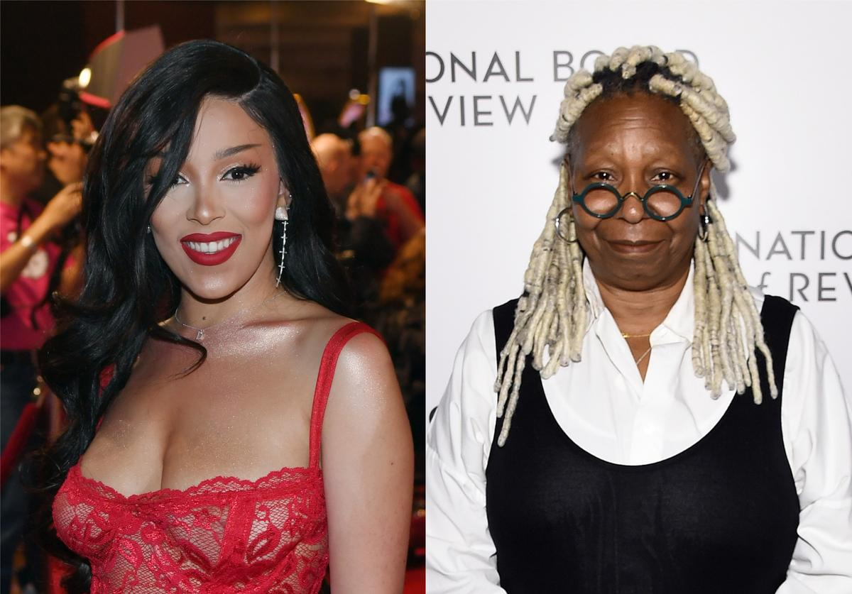 Doja Cat Whoopi Goldberg dad