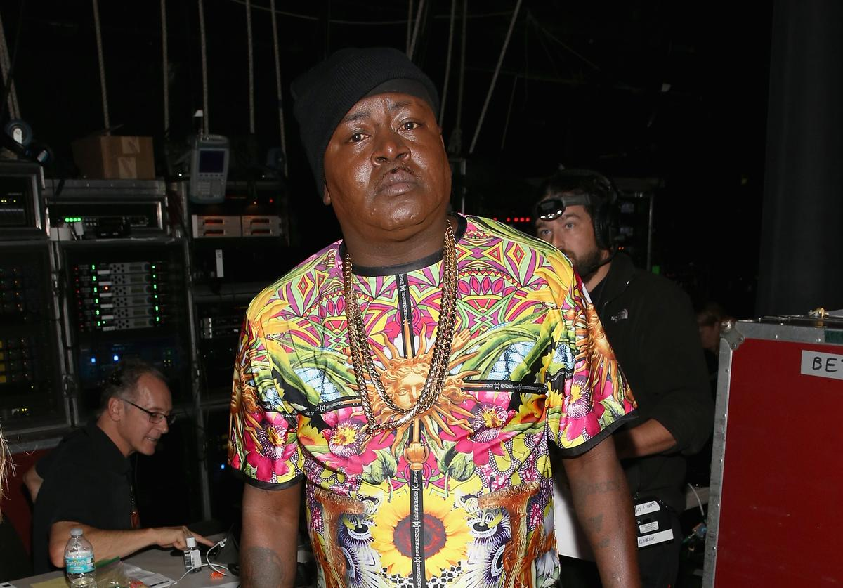 Trick Daddy arrest cocaine possession dui sobriety test breathalizer fail dollar bill white powder substance residue cops police