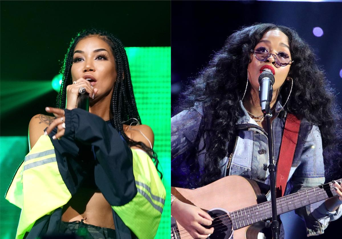 jhene aiko h.e.r. bet sos saving our selves covid-19 coronavirus relief fund efforts fundraiser live stream benefit concert event evening performance B.S. collaboration duet CHILOMBO