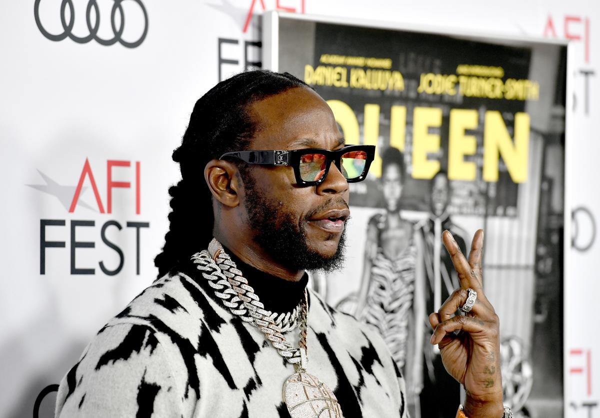 """2 Chainz attends the """"Queen & Slim"""" Premiere at AFI FEST 2019 presented by Audi at the TCL Chinese Theatre on November 14, 2019 in Hollywood, California."""