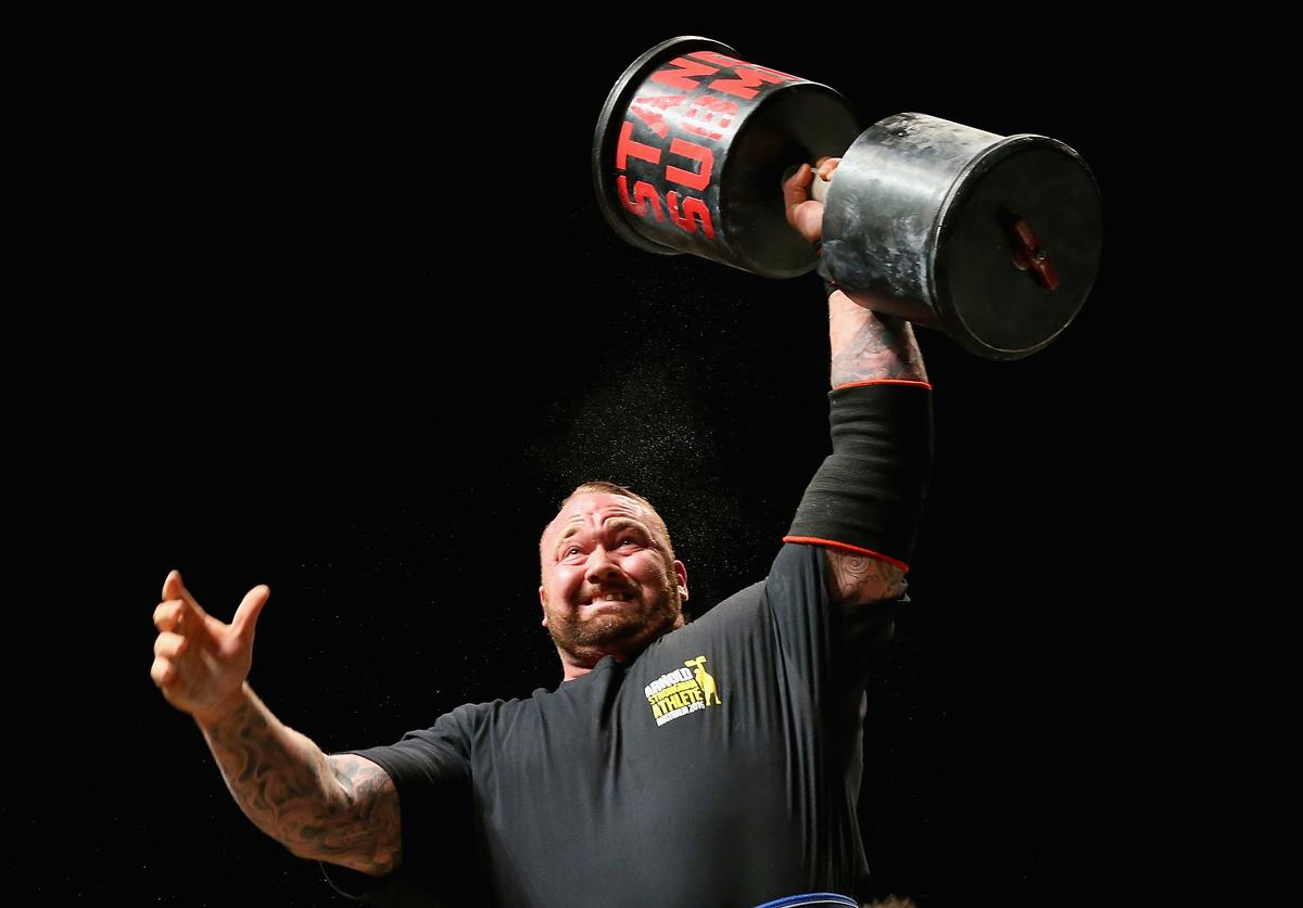 The Mountain, Game of Thrones, Deadlift