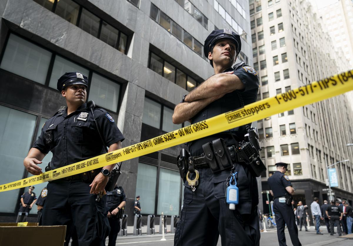 NYPD, Social Distancing, Punch