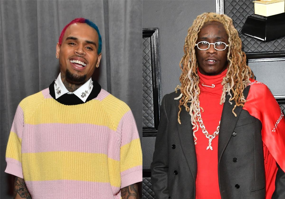 Young Thug Chris Brown Slime & B