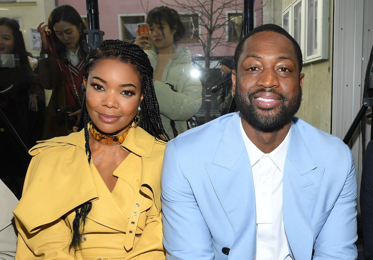 Dwyane Wade Gabrielle Union old NBA games watch quarantine  the tonight show starring jimmy fallon