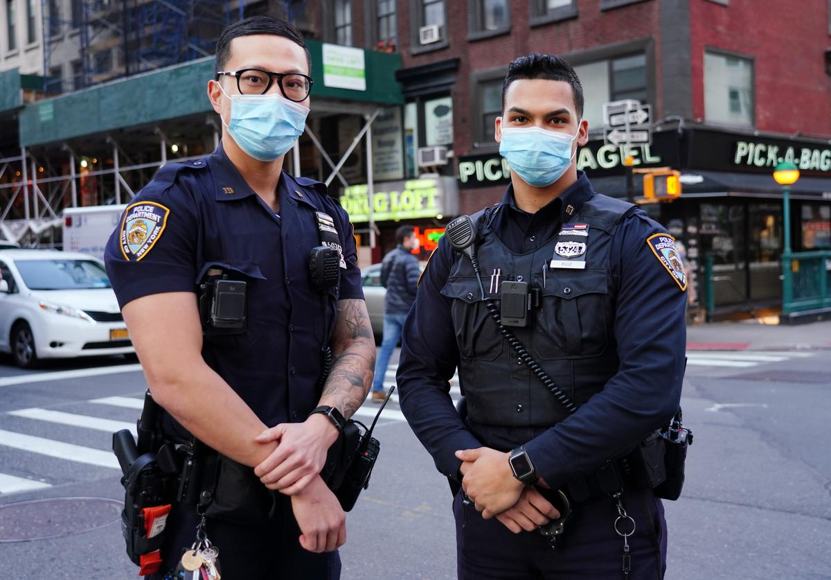 NYPD social distancing