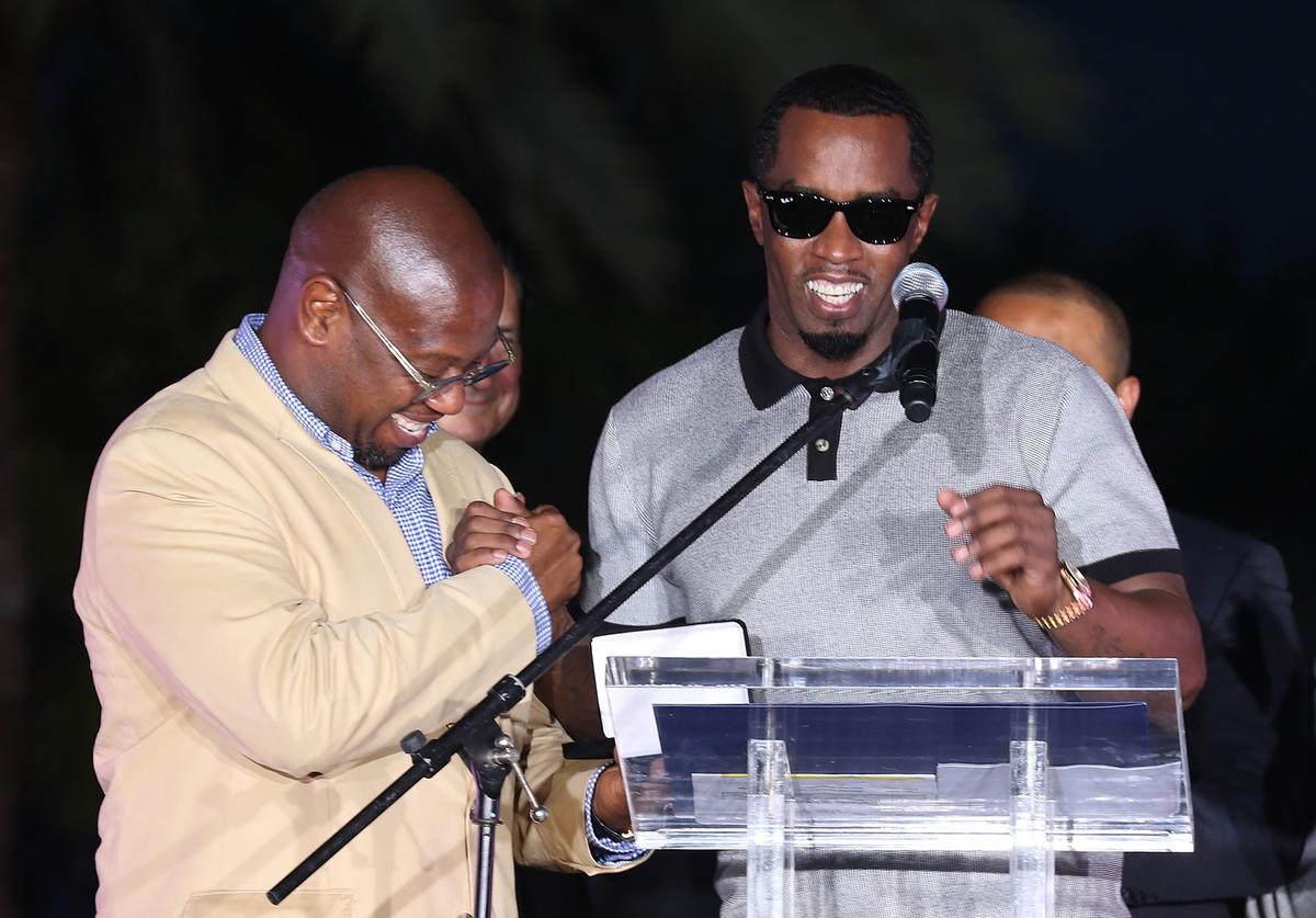 diddy sean puff combs andre harrell honour mourn tribute death rip discover uptown records