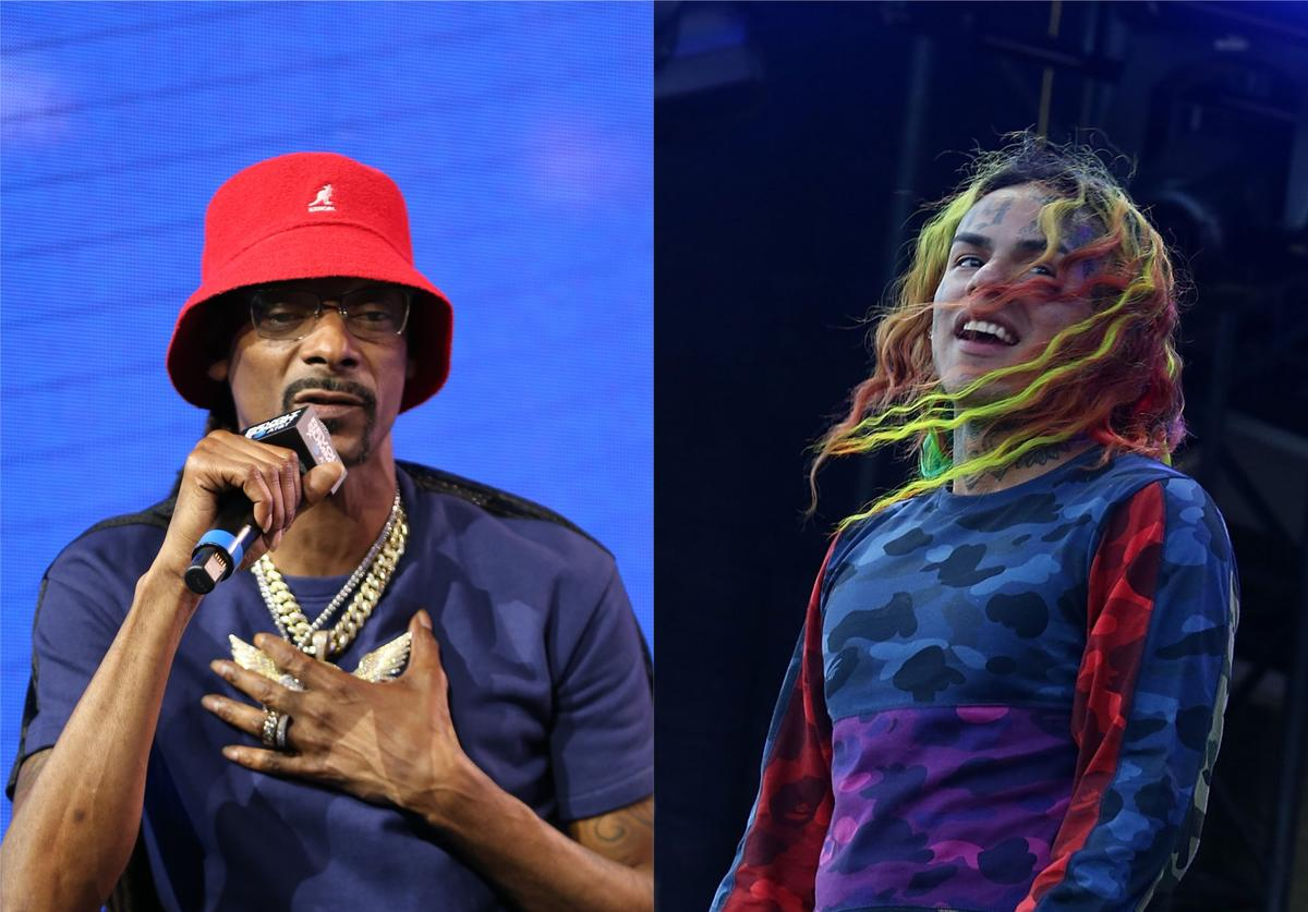 snoop dogg tekashi 6ix9ine snitch allegations accusations suge knight