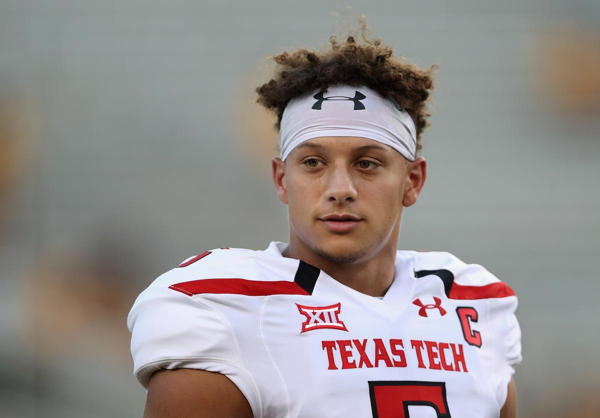 Patrick Mahomes, Texas Tech, Commencement