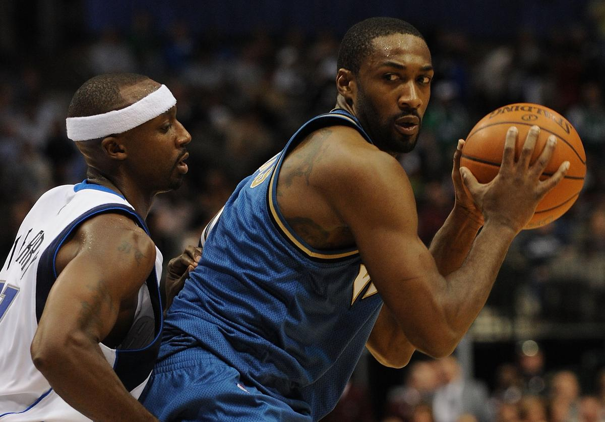 Gilbert Arenas, Homeless, Lottery