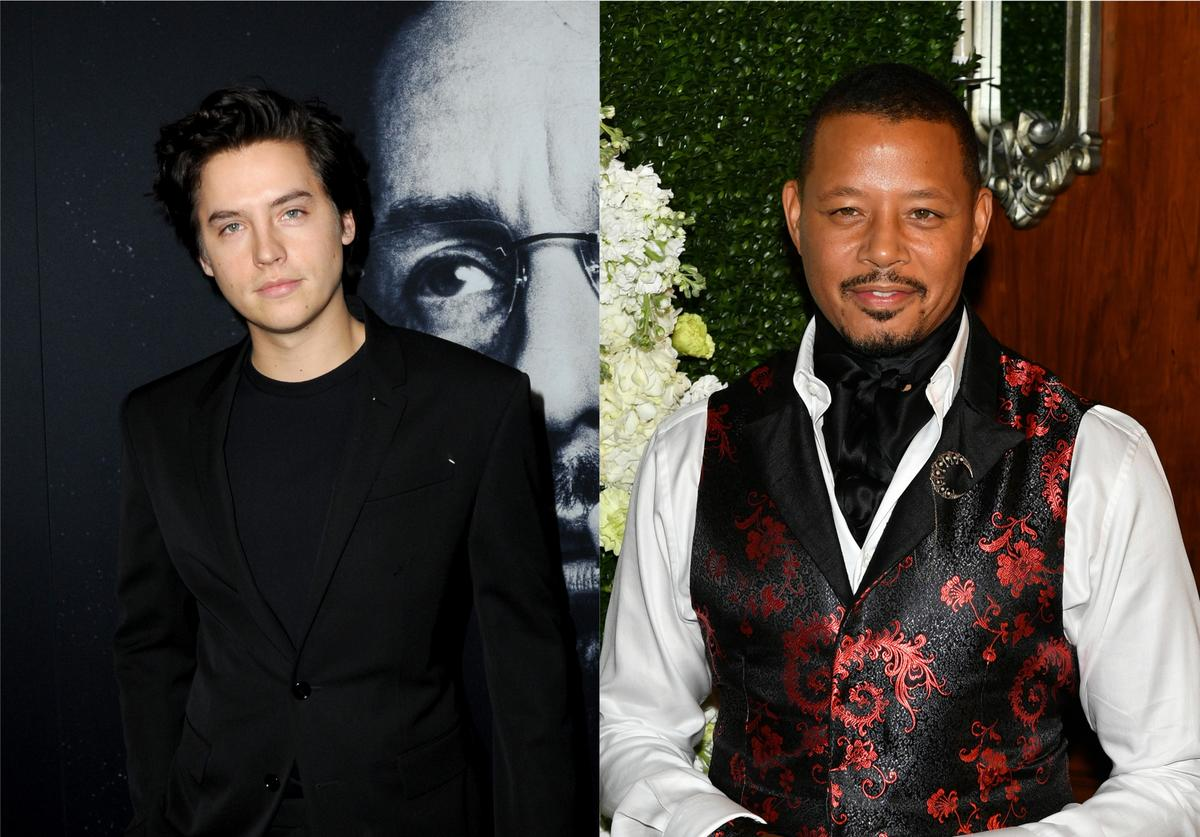 cole sprouse terrence howard resemblance look alike comparison photo shoot