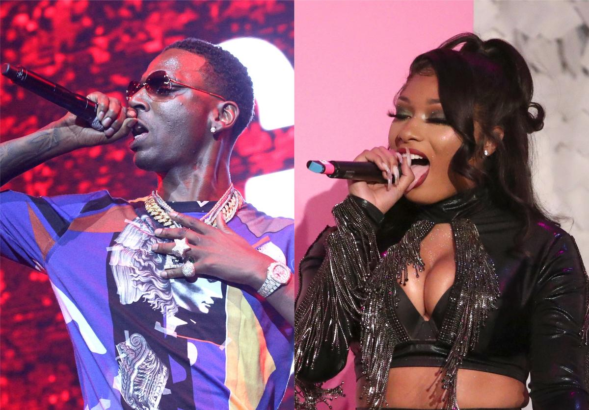 megan thee stallion young dolph juicy j rnb collaboration