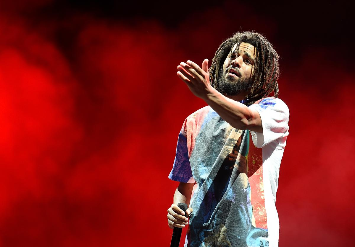 J. Cole, George Floyd, Protests