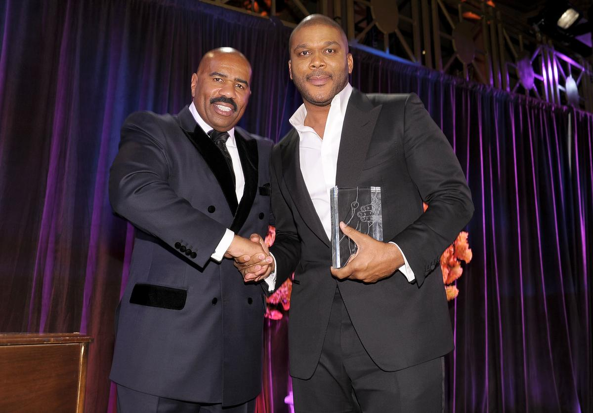 steve harvey tyler perry atlanta mansion $15 million purchase buy