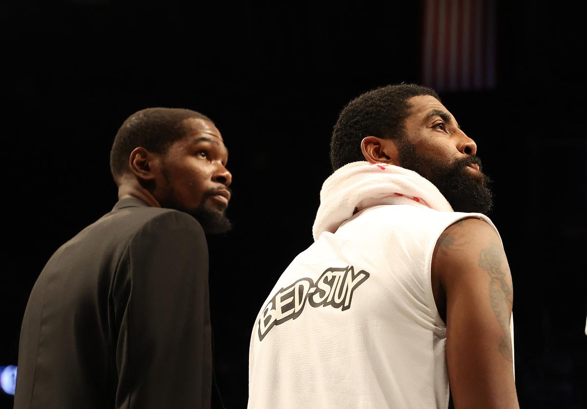 Kevin Durant & Kyrie Irving