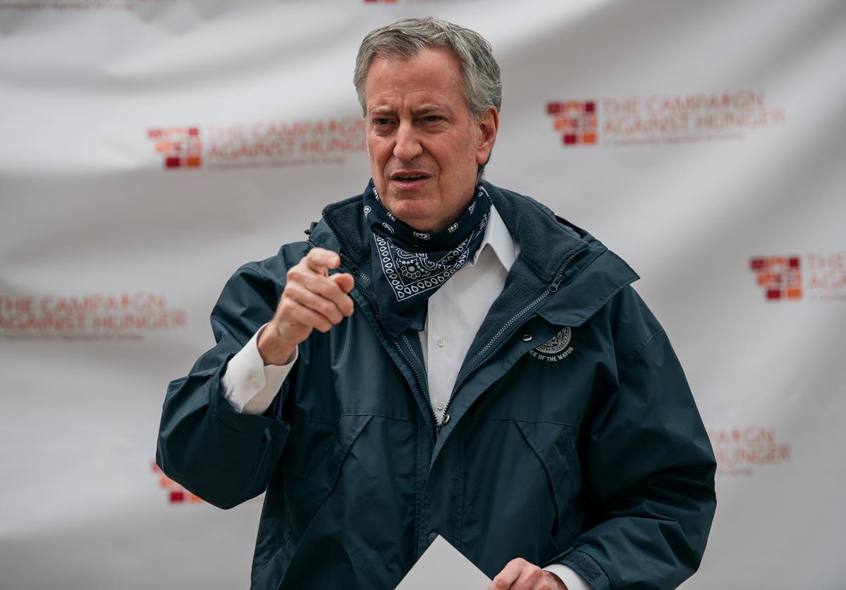 Bill de Blasio, NYC, Phase 1