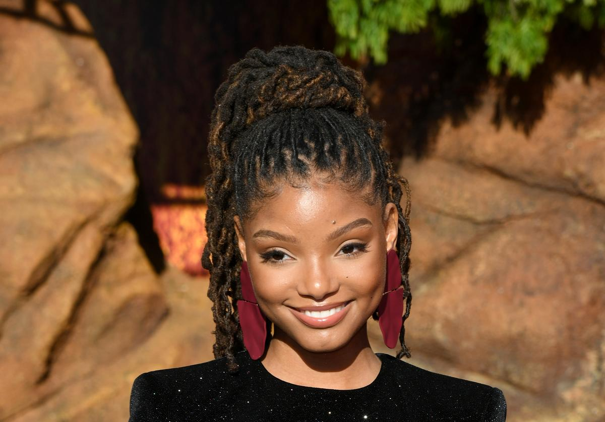 halle bailey the little mermaid chloe x halle racism response