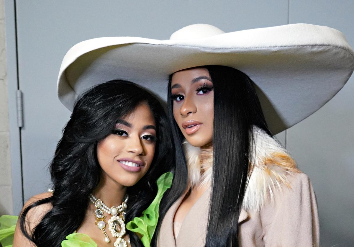 cardi b hennessy carolina kulture bisexual pride queer lgbtq+ rainbow flag dress outfit
