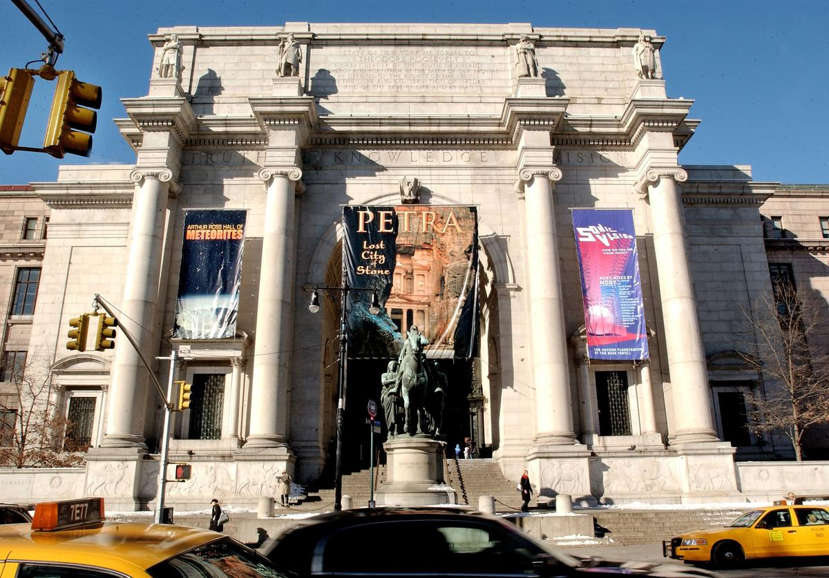 Roosevelt, Statue, Museum of Natural history