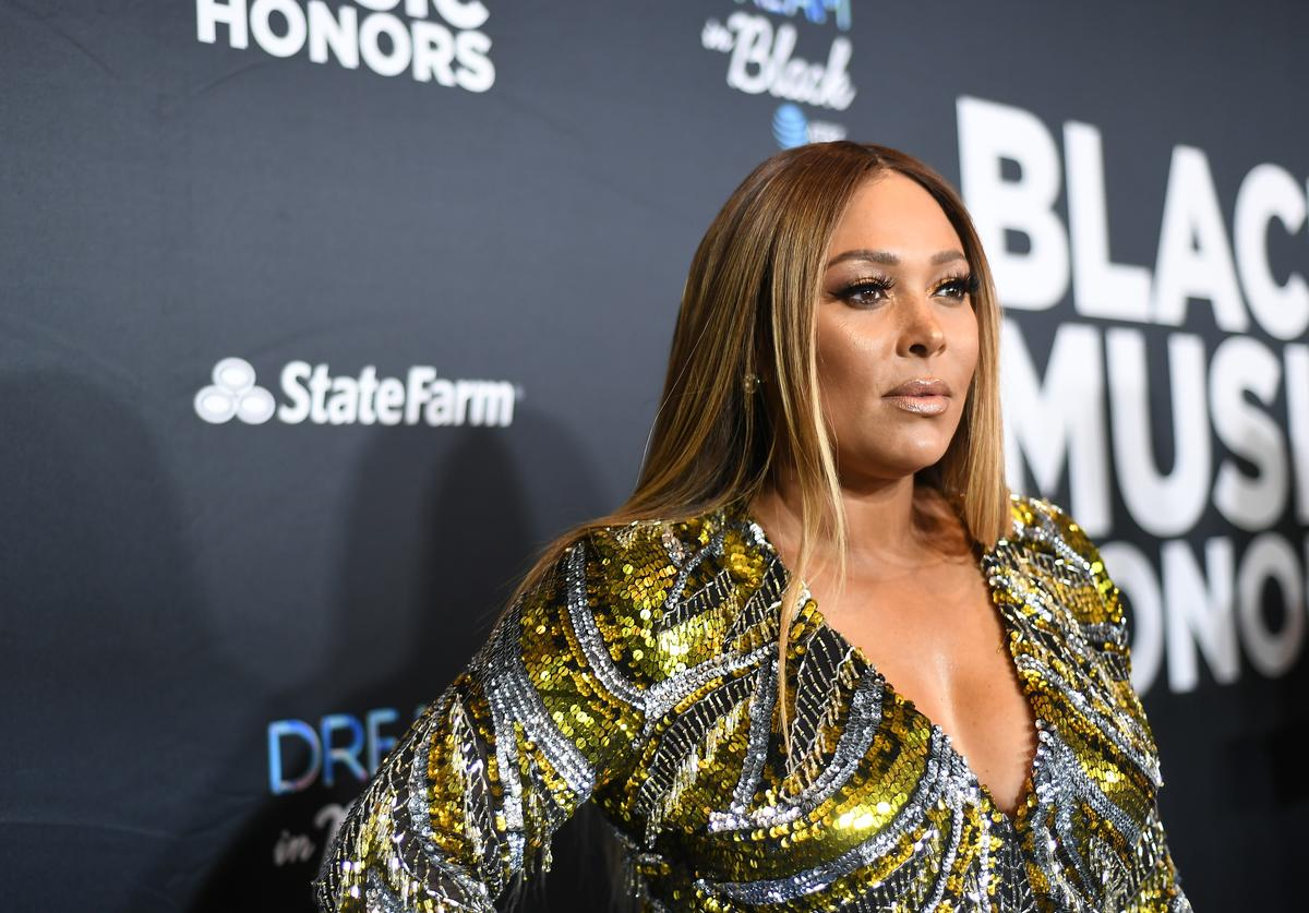 Singer Tamia attends 2019 Black Music Honors at Cobb Energy Performing Arts Centre on September 05, 2019 in Atlanta, Georgia.