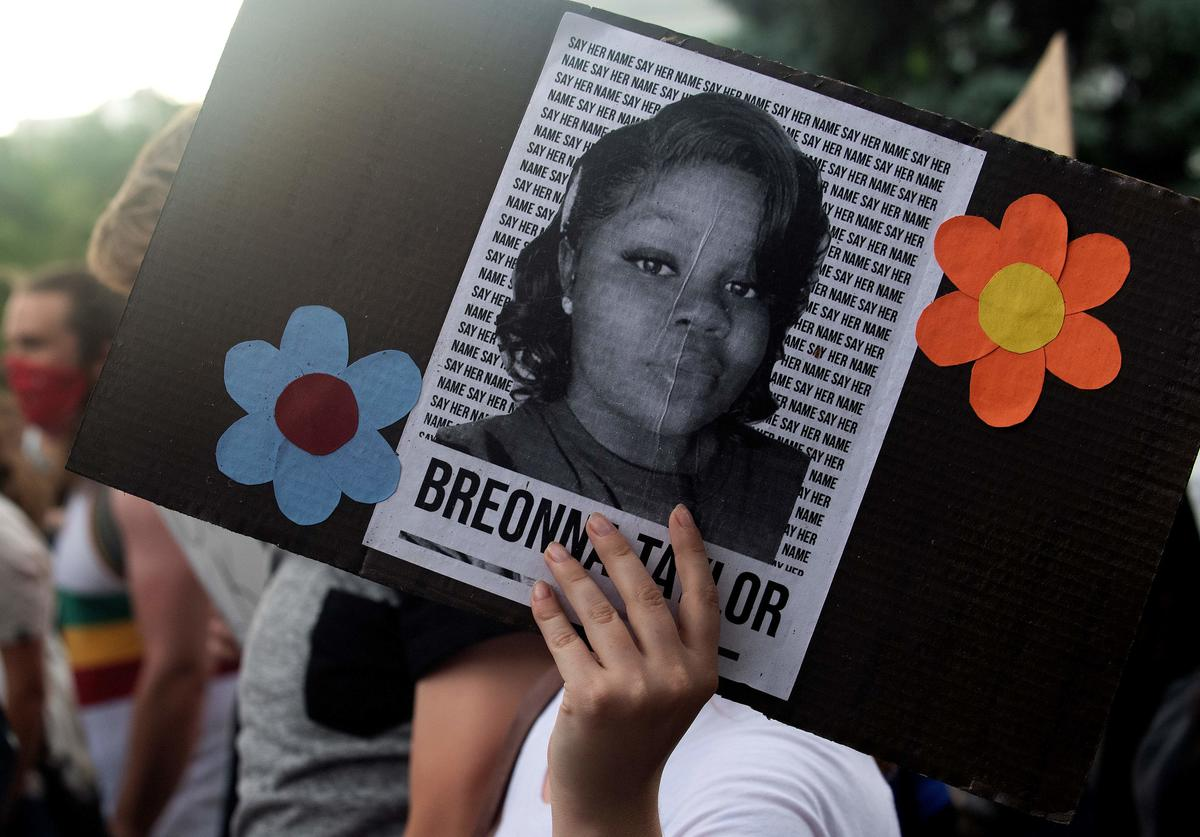 Breonna Taylor death police Shooting audio tapes black lives matter