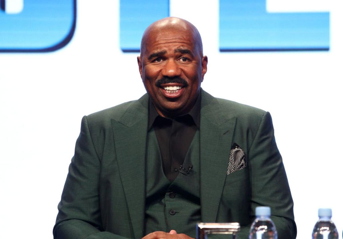 Steve Harvey Bruce Smith