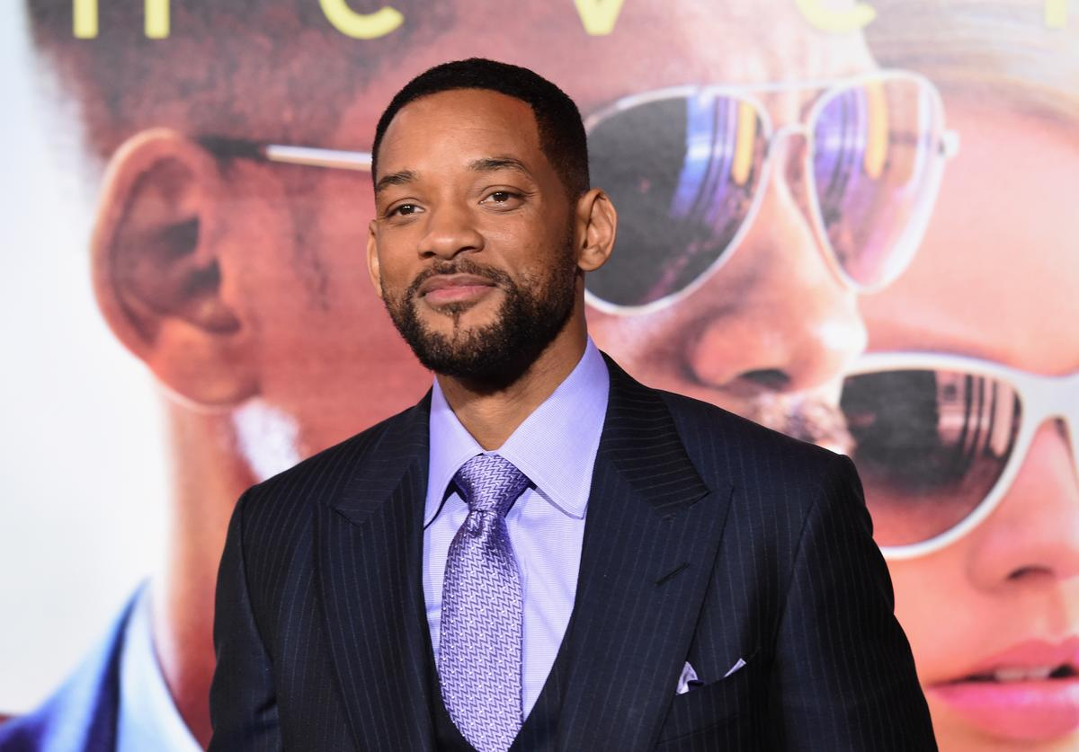 "Actor Will Smith attends the Warner Bros. Pictures' ""Focus"" premiere at TCL Chinese Theatre on February 24, 2015 in Hollywood, California."