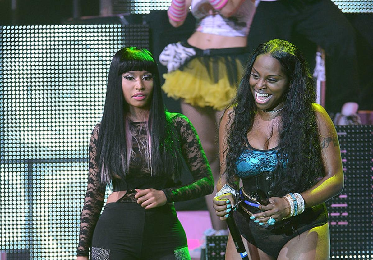 Foxy Brown Nicki Minaj