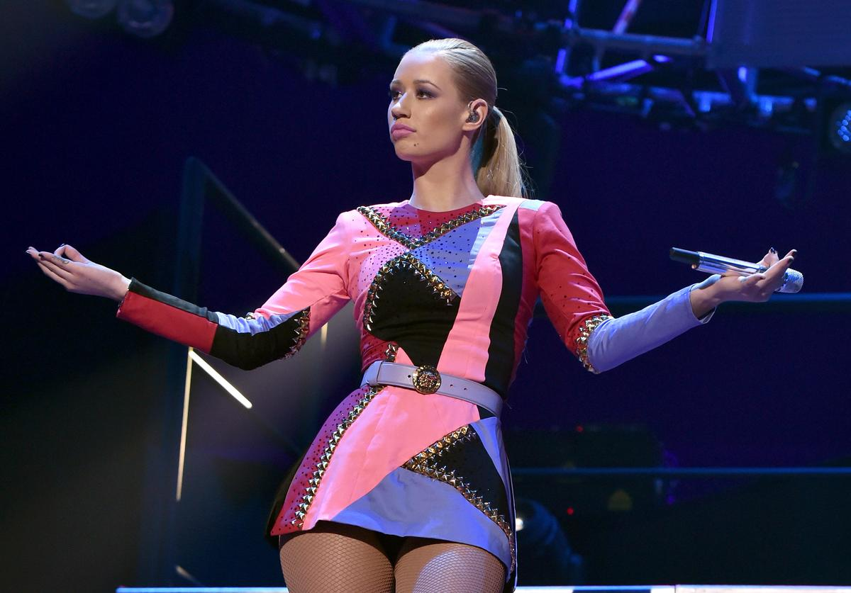 Recording artist Iggy Azalea performs onstage during the 2014 iHeartRadio Music Festival at the MGM Grand Garden Arena on September 20, 2014 in Las Vegas, Nevada.