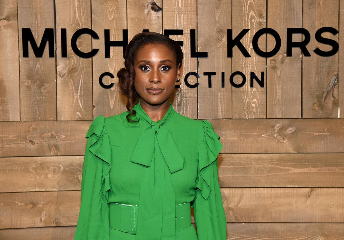 Issa Rae attends the Michael Kors FW20 Runway Show on February 12, 2020 in New York City.