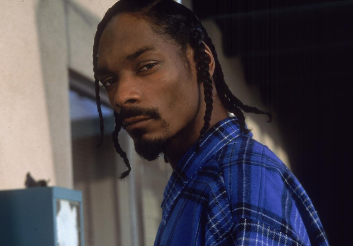 "Copyright Columbia Pictures ): Actor Snoop Dogg performs in the film ""Baby Boy."""