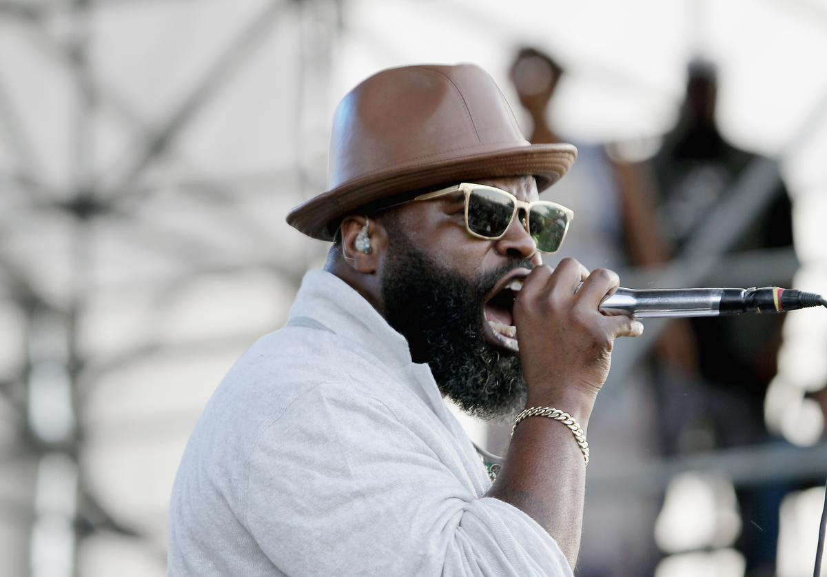 Musician Black Thought of The Roots performs on stage at The 12th Annual Jazz In The Gardens Music Festival - Day 2 at Hard Rock Stadium on March 19, 2017 in Miami Gardens, Florida.