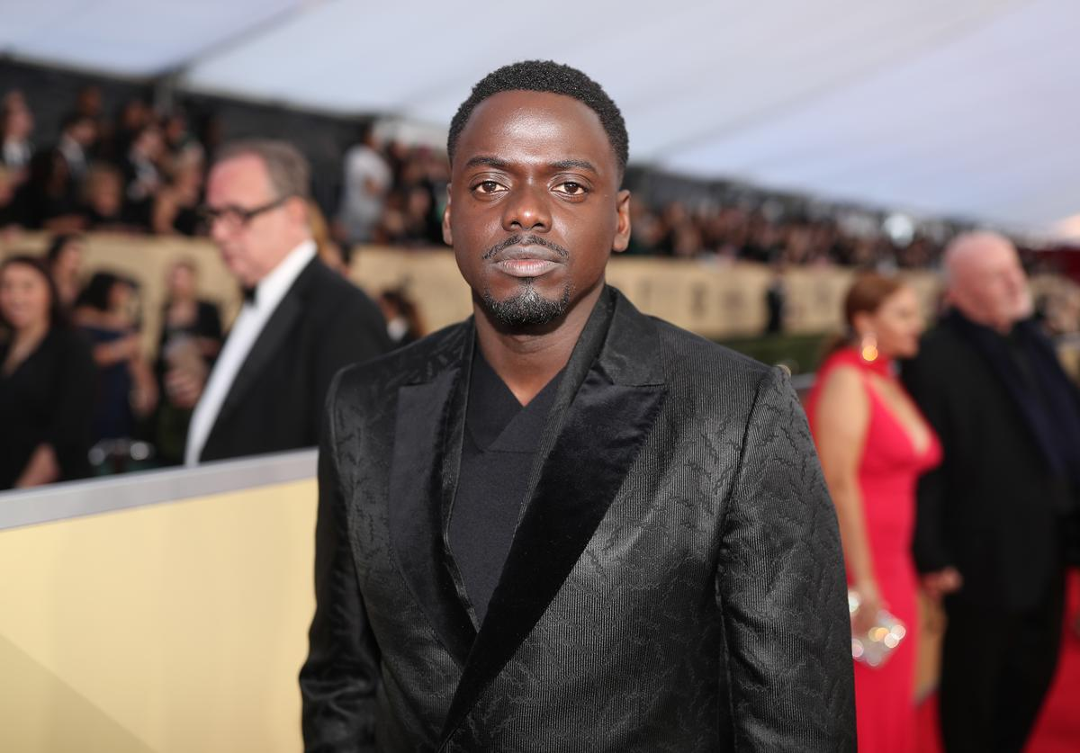 Actor Daniel Kaluuya attends the 24th Annual Screen Actors Guild Awards at The Shrine Auditorium on January 21, 2018 in Los Angeles, California.