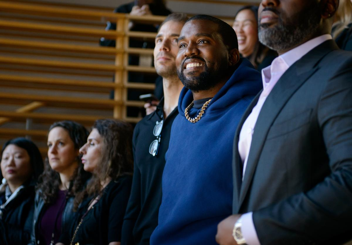 Kayne West attends 2019 New York Times Dealbook on November 06, 2019 in New York City.