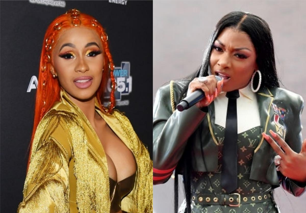Cardi B megan Thee Stallion WAP Hot 100
