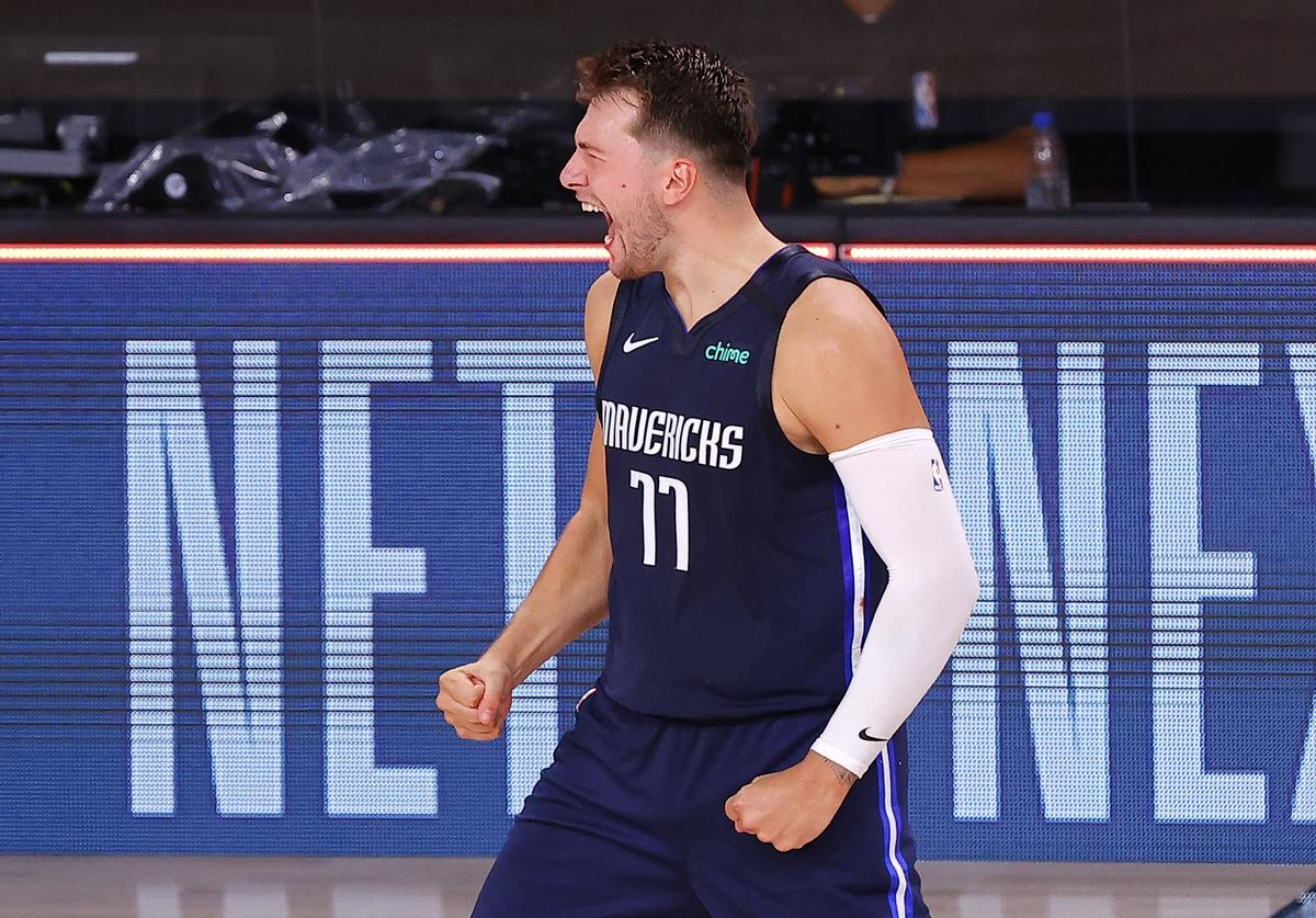 Luka Doncic, Clippers, Game Winner