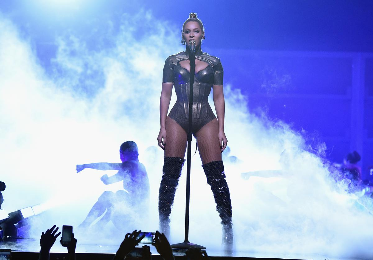 : Beyonce performs onstage during TIDAL X: 1015 on October 15, 2016 in New York City.